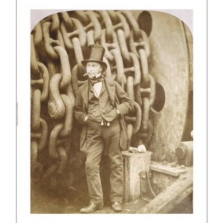 "ROBERT HOWLETT ""Isambard Kingdom Brunel"" Photo PRINT various SIZES available"
