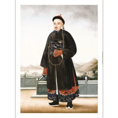 CHINESE SCHOOL Chinese Hong Merchant Art CANVAS EDITION various SIZES, BRAND NEW