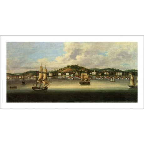 "CHINESE SCHOOL ""View Of Singapore"" Chinese Print NEW various SIZES available"