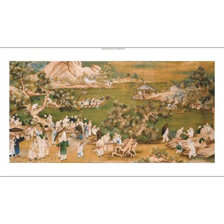 CHINESE SCHOOL Celebrating Festival At Lake PRINT New various SIZES, BRAND NEW