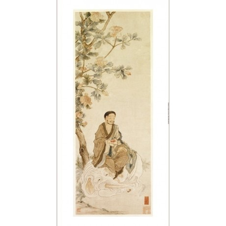 "DECORATIVE CANVAS PRINT ""Bodhisattva Pu Xian"" NEW choose SIZE, from 55cm up, NEW"