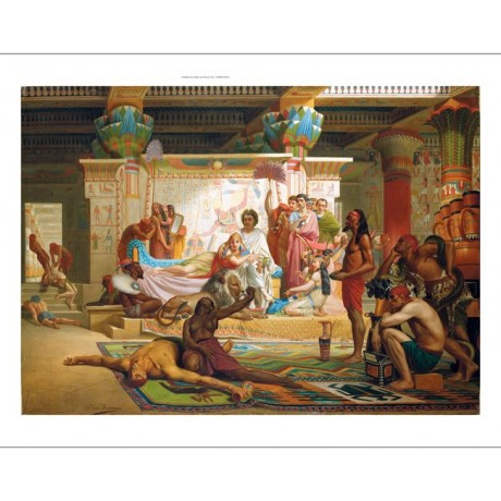 "ANTOINE VAN HAMMEE ""Anthony and Cleopatra"" egypt CANVAS various SIZES, BRAND NEW"