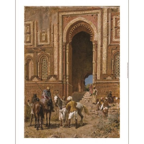 "EDWIN LORD WEEKS ""Along the Ghats, Mathura"" river INDIA various SIZES, BRAND NEW"