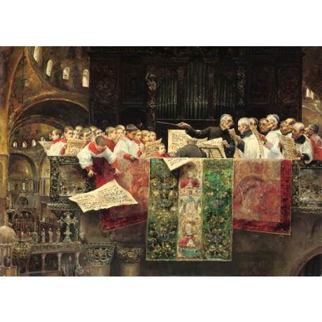 "JOSE GALLEGOS Y ARNOSA ""Choir of St. Mark's, Venice"" various SIZES available"