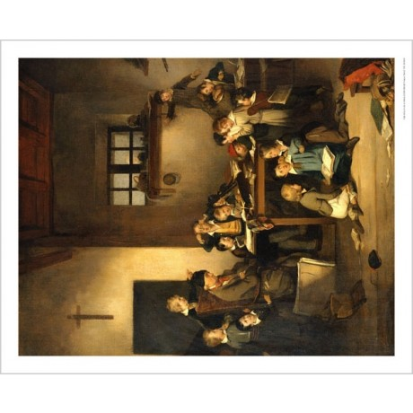 "JOSEPH BEAUME ""Sleeping Teacher"" CANVAS ART ! choose your SIZE, 55cm to X LARGE"