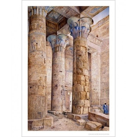 "HENRY RODERICK NEWMAN ""Temple Of Philae, Egypt"" Print various SIZES, BRAND NEW"