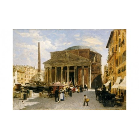 "VERONIKA MARIO HERWEGEN- MANINI ""Pantheon, Rome"" Print various SIZES, BRAND NEW"