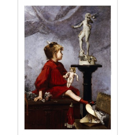 "LOUIS-ROBERT CARRIER-BELLEUSE ""Doll"" Art CANVAS EDITION various SIZES, BRAND NEW"