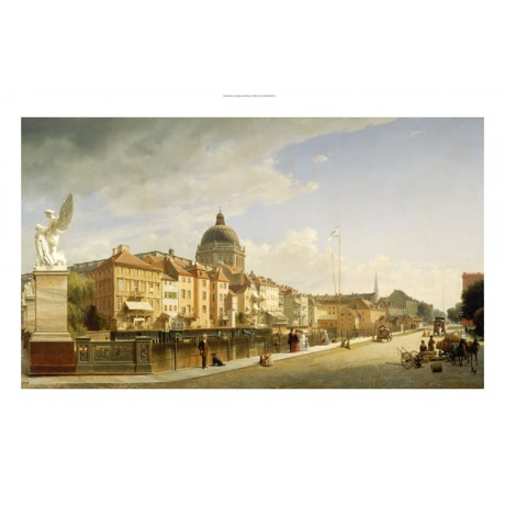 JOHANN PHILIPP EDUARD GAERTNER Berlin CANVAS ART ! choose SIZE, from 55cm up