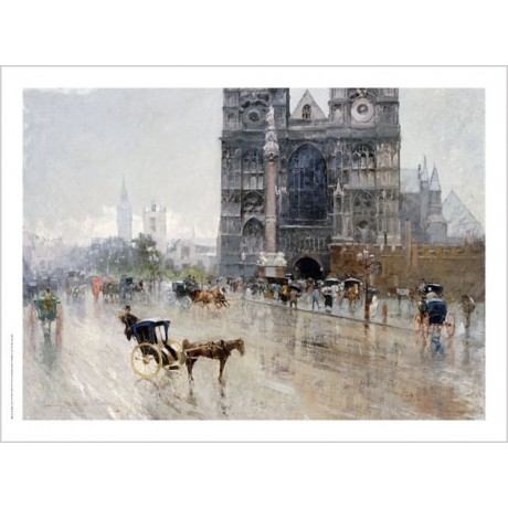 "PAOLA SALA ""Sanctuary, Westminster, London"" CANVAS ART various SIZES, BRAND NEW"