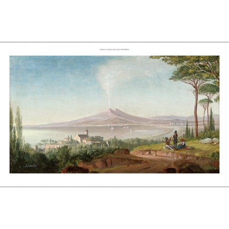 "NEAPOLITEAN SCHOOL ""Travellers Resting Before Sorrento"" various SIZES, BRAND NEW"