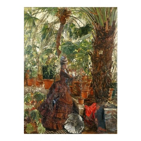 EDOUARD FREDERIC WILHELM RICHTER In Conservatory PRINT various SIZES, BRAND NEW