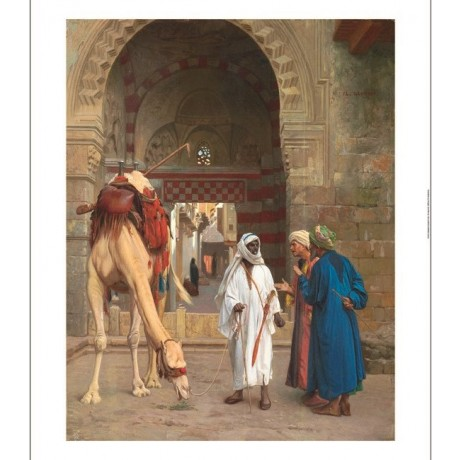 "JEAN-LEON GEROME ""Dispute d'Arabes"" middle east camel various SIZES, BRAND NEW"