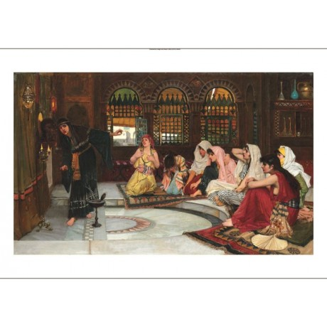 "JOHN WILLIAM WATERHOUSE ""Consulting the Oracle"" HAREM various SIZES, BRAND NEW"