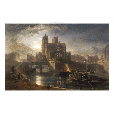 "EDWARD ANGELO GOODALL ""Notre Dame, Paris"" CANVAS ART ! various SIZES, BRAND NEW"