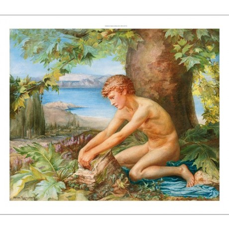 "HELEN THORNYCROFT ""The Trial of Theseus"" NUDE male choose your SIZE, 55cm up"