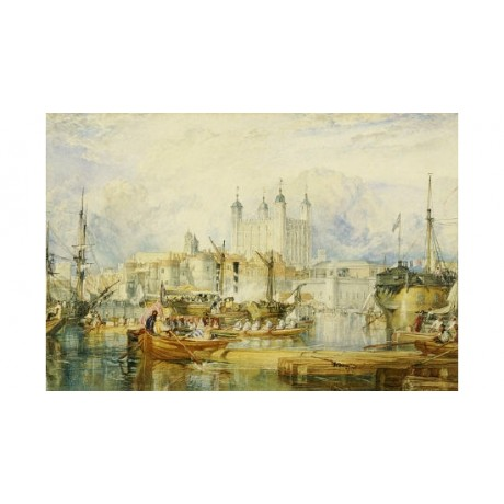 "JOSEPH MALLORD WILLIAM TURNER ""Tower Of London"" Print various SIZES, BRAND NEW"