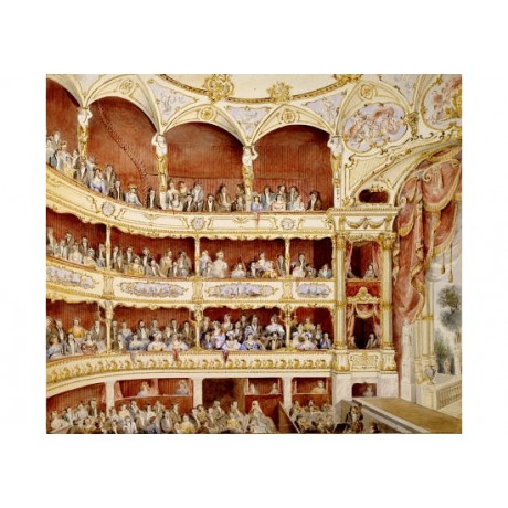 JOHN GREGORY CRACE Auditorium St. James's Theatre PRINT various SIZES available