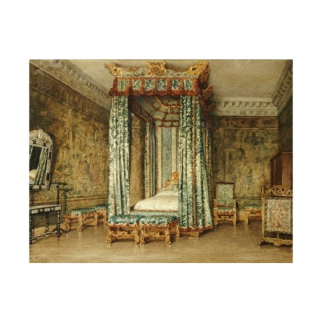 "ELLEN CLACY ""Venetian Ambassador's Room, Knole"" Print various SIZES available"