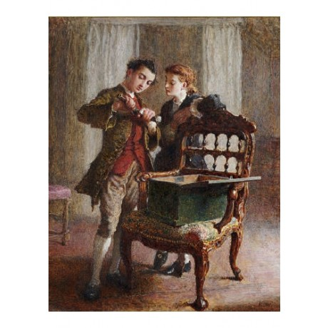 FREDERICK WALKER Drawing Room Scene CANVAS EDITION choose SIZE, from 55cm up