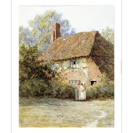 "HELEN ALLINGHAM ""Near Westerham, Kent"" print NEW choose SIZE, from 55cm up, NEW"