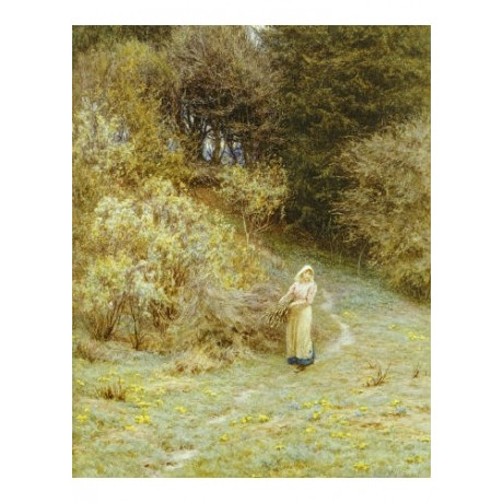 "HELEN ALLINGHAM ""In Primrose Wood"" Art Print various SIZES available"