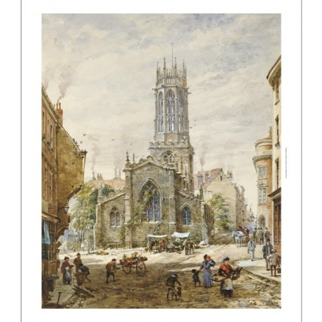 "LOUISE RAYNER ""All Saints Pavement, York"" CANVAS ART ! various SIZES, BRAND NEW"