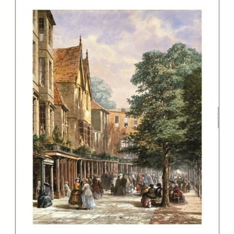 "LOUISE RAYNER ""The Pantiles, Tunbridge Wells"" CANVAS! various SIZES, BRAND NEW"