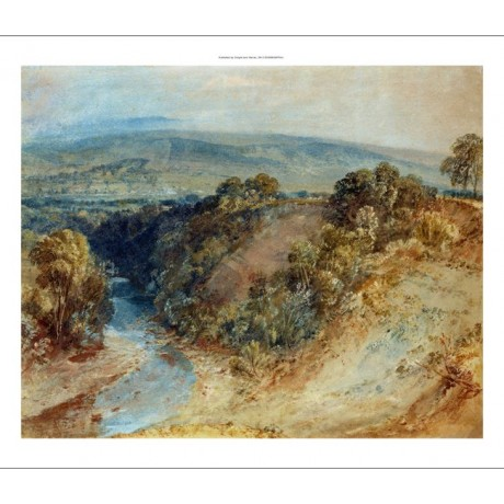 "JOSEPH MALLORD TURNER ""Valley of Washburn"" new CANVAS! various SIZES, BRAND NEW"
