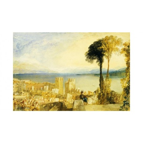 JOSEPH MALLORD WILLIAM TURNER Lago Maggiore Italy PRINT various SIZES, BRAND NEW