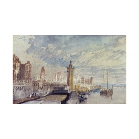 "JOSEPH MALLORD TURNER ""Mainz on the Rhine"" new CANVAS! various SIZES, BRAND NEW"