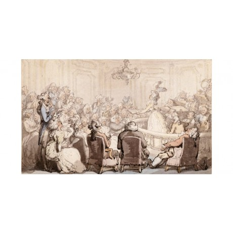 "THOMAS ROWLANDSON ""Concert, Bath Chambers"" Art Print various SIZES available"