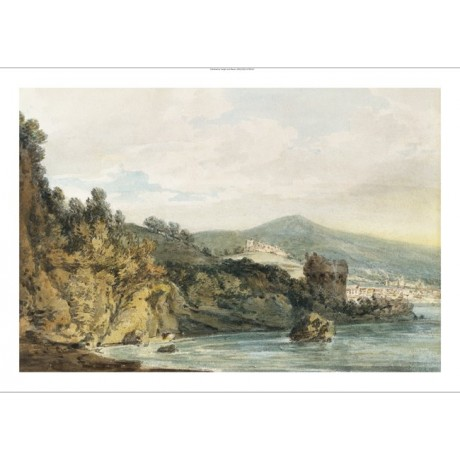 "JOSEPH MALLORD TURNER ""Coast Under Vietri"" new CANVAS! various SIZES, BRAND NEW"