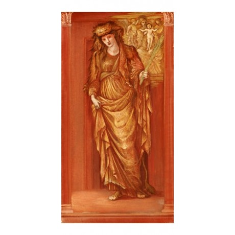 "SIR EDWARD COLEY BURNE-JONES ""Sibylla Tiburtina"" print various SIZES, BRAND NEW"