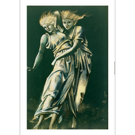 SIR EDWARD COLEY BURNE-JONES Dancing Figures Embracing various SIZES, BRAND NEW