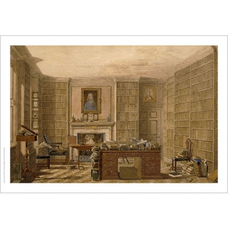 "GEORGE PYNE ""Study Of An Academic"" Print choose SIZE, from 55cm to X LARGE, NEW"