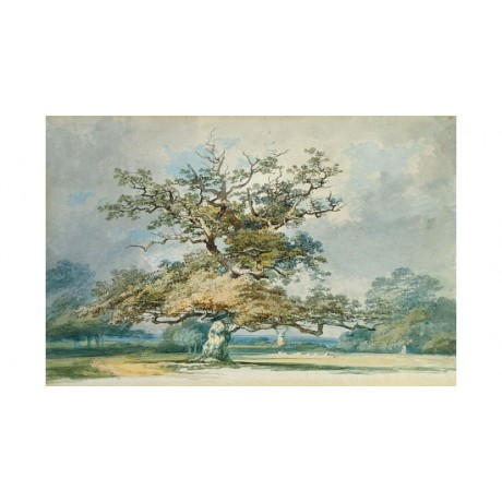 JOSEPH MALLORD TURNER Landscape With Old Oak new CANVAS various SIZES, BRAND NEW