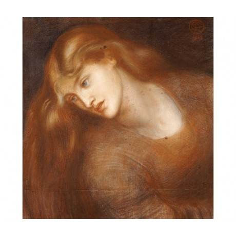 "DANTE GABRIEL ROSSETTI ""Aspecta Medusa"" CANVAS ART ! various SIZES available"