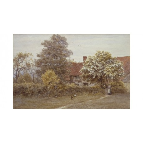 "HELEN ALLINGHAM ""Blake's House Hampstead Heath"" CANVAS various SIZES, BRAND NEW"