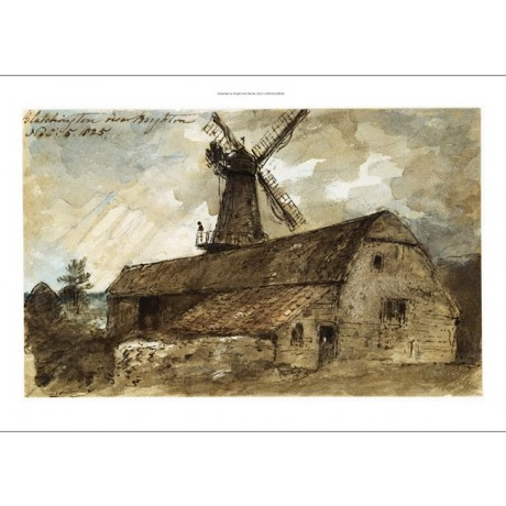 JOHN CONSTABLE Blatchington Mill Brighton new CANVAS! various SIZES, BRAND NEW