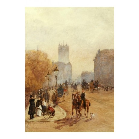 "ROSE MAYNARD BON ""Parliament Street"" print NEW CANVAS various SIZES, BRAND NEW"