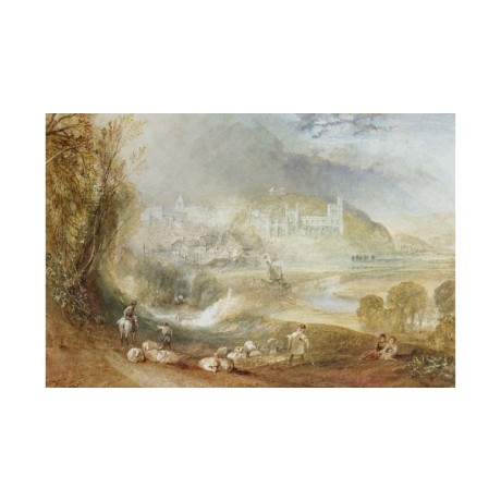 "JOSEPH MALLORD TURNER ""Arundel Castle Town"" new CANVAS! various SIZES, BRAND NEW"
