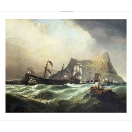 CLARKSON STANFIELD Neptune Towing Victory Ship PRINT various SIZES available