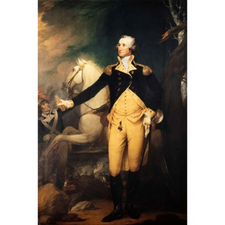 ROBERT MULLER Portrait of General George WASHINGTON BATTLE of trenton day NEW!