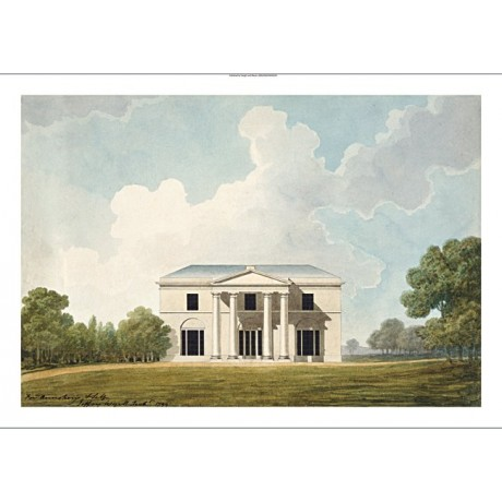 "JEFFRY WYATVILLE ""Design for a Villa"" new CANVAS print! various SIZES, BRAND NEW"