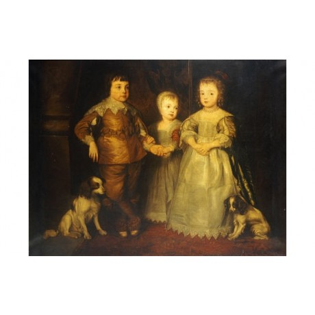 SIR ANTHONY VAN DYCK Children Of King Charles I PRINT various SIZES, BRAND NEW