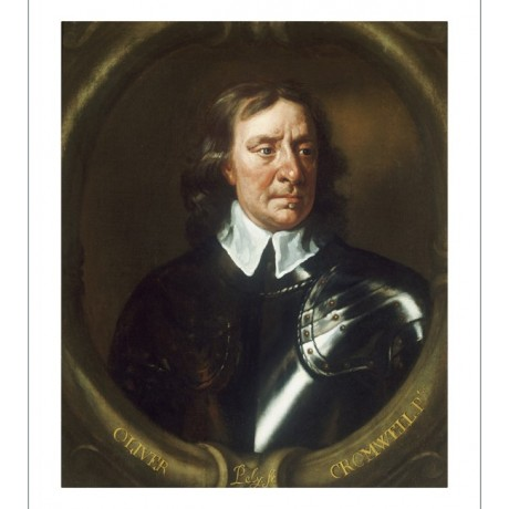 "SIR PETER LELY ""Portrait Of Oliver Cromwell"" ON CANVAS various SIZES available"