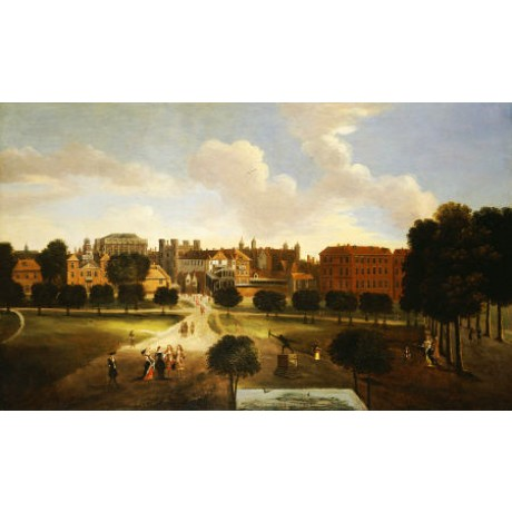 THOMAS VAN WYCK Old Horse Guards Parade PRINT new choose SIZE, from 55cm up, NEW