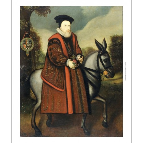 ENGLISH SCHOOL William Cecil NEW print ON CANVAS choose SIZE, from 55cm up, NEW