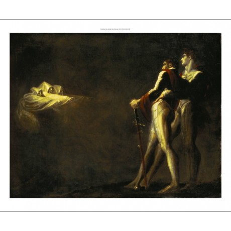 HENRY FUSELI Three Witches Appearing to Macbeth CANVAS! various SIZES, BRAND NEW